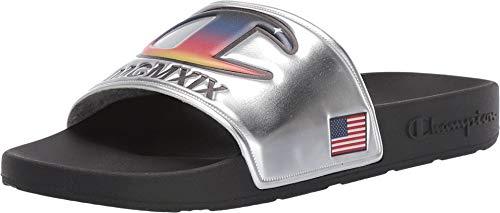 (Champion Men's IPO Metallic Slide Sandals)