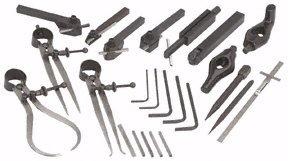30 Piece Mini Lathe Tool Kit High Speed Steel (HSS)