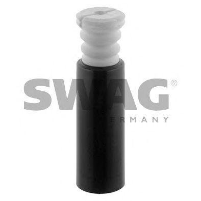 SWAG Rear Shock Absorber Dust Cover Kit Fits BMW E87 E81 Hatchback 33536764407 ()