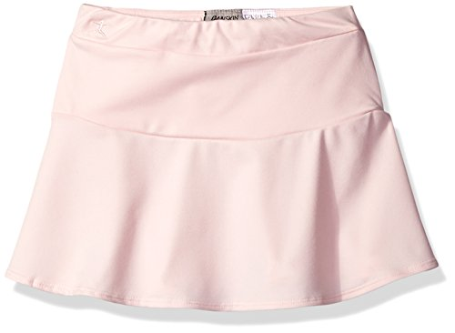 Danskin Big Girls (7-16) Dance Skirt, Petal Pink/Drop Waist, Medium (8/10)