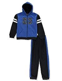 Quad Seven Boys' 23 Sherpa 2-Piece Sweatsuit Pants Set