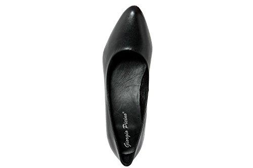 GIORGIO PICINO - Zapatos de vestir de Piel para mujer Negro negro