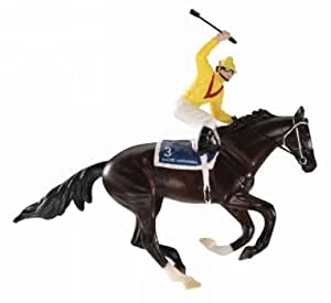 Breyer Rachel Alexandra Holiday Racehorse Ornament