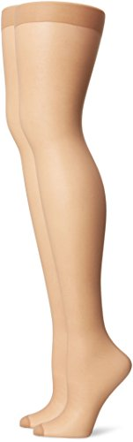 Just My Size Women's Smooth Finish Control Top Panty Hose, Nude, 3X (Just My Size Pantyhose Sheer Toe)