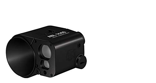 ATN Auxiliary Ballistic Laser Rangefinder 1500 w/Bluetooth, Device Works with Mil and MOA scopes Using Ballistic Calculator App