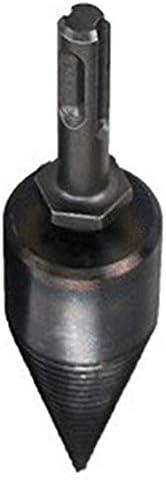 无 ガンギ製薪機械ドリルビットウッドコーンリーマーパンチドライバードリルビットスプリットドリルツールラウンド32mm