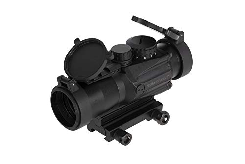 Primary Arms Silver Series Compact 3x32 (Gen II) Prism Scope with Etched Fully Illuminated ACSS CQB 300BO \ 7.62 Reticle - Included MIL-STD Base with Removable Spacer