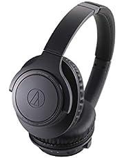 Audio Technica ATH-SR30BTBK Sound Reality Bluetooth Wireless Over-Ear Headphones with Microphone (Black)
