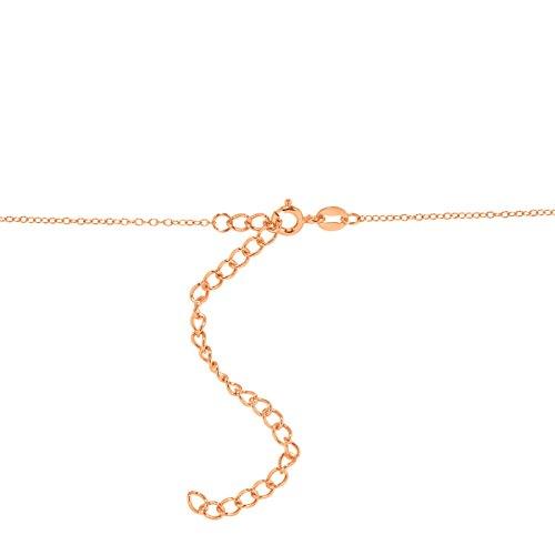 7e01e4691 Crystaluxe Mother-of-Pearl & Swarovski Crystal Cross Pendant in 18K Rose  Gold-