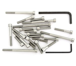 (Stainless Steel Allen Bolt Set - Compatible with Honda CM200T CM200 Twinstar - 1980-1982 - 24 Bolts )