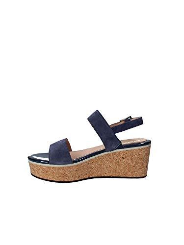 Donna 110280 Blu Sandalo 40 Stonefly Zeppa q4P818w