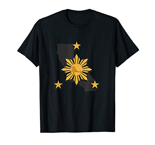 Filipino Heritage Shirt  Bay Area Pinoy Warrior T-Shirt