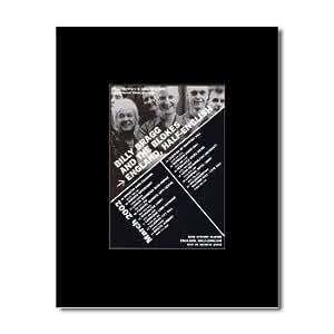 BILLY BRAGG - UK Tour 2002 Mini Poster - 13.5x10cm