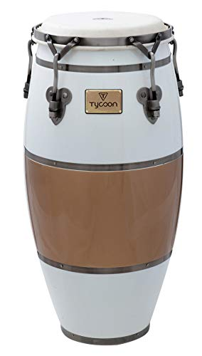 (Tycoon Percussion TSCHBC100CCL Signature Heritage Cafe Con Leche Series Requinto 10 Conga)