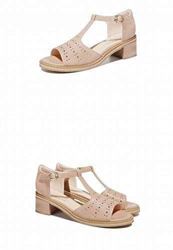 Rose Femmes Rough Beach D'étudiant Taille Chaussures 35 Pour Sandales Des Avec coloré Romaines Rose Outdoor TgBHqwUU