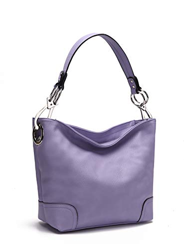 Purple Hobo Handbag - 9