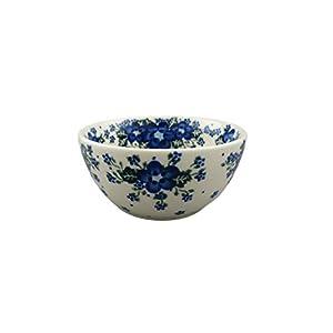 Boleslawiec Style Pottery Hand Painted Polish Ceramic Venus Bowl (13) 071-U-420