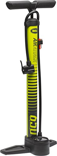 Bell Air Attack 650 High Volume Bicycle Pump (Gauge With Pump Air)