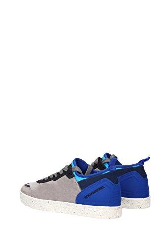 Hogan Sneakers rebel Uomo - Tessuto (HXM1410U370CG8) EU Grigio