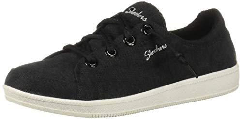 (Skechers Women's Madison Ave-Inner City Sneaker, BKW, 9 M US)
