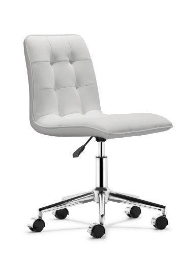 white rolling chair. White Rolling Chair H