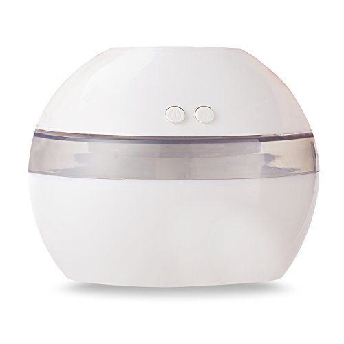 Reliatronic Cool Mist Humidifier 300ml Mini Desk Diffuser with Auto Shut-Off Function, for Home Bedroom Travel and Office Desk