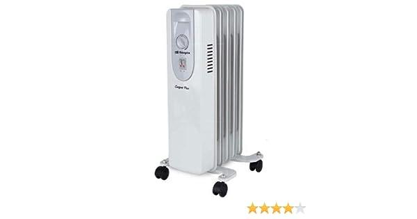 Orbegozo 1000 radiador de Aceite Serie RP, W, Color blanco: Amazon ...