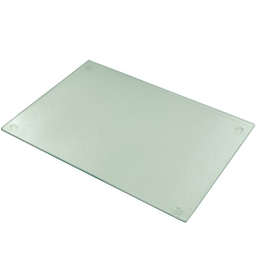 Cutting Board Tempered Glass 15x11 Inches