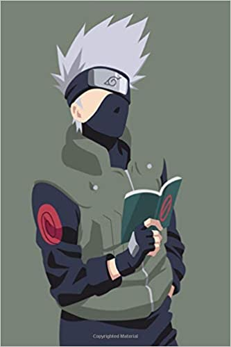 Kakashi Notebook: Kakashi Hatake Sensei Themed Colorful Diary, Journal and composition Notebook |6' x 9'| 100 Lined pages for School and Day life of Naruto fans