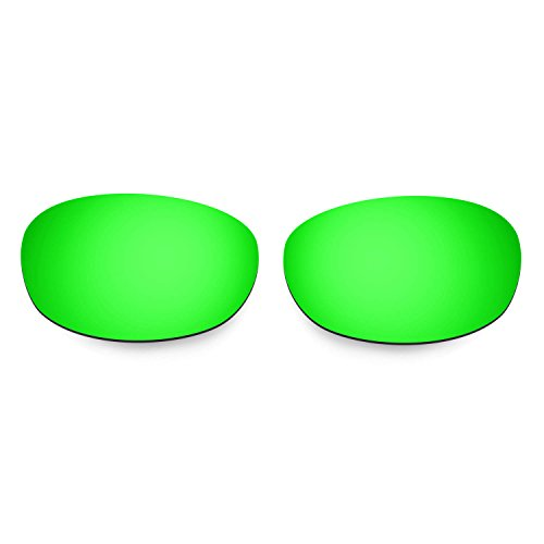 Hkuco Mens Replacement Lenses For Costa Harpoon Sunglasses Red/Emerald Green