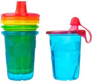 The First Years Take & Toss Spill-Proof Sippy Cups, 10 Ounce, 4 Count