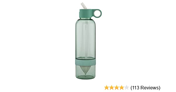 Citrus Zinger Sip by Zing Anything, Active Infusion Water Bottle, Citrus Fruit Infusion, BPA EA free Tritan, Reusable Water Bottle, Hydration, ...