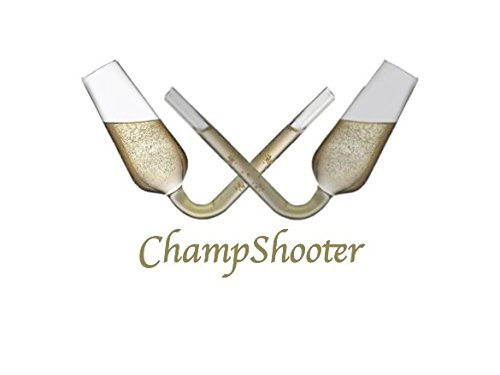 Champagne Shooter - (2) Rapid Consumption Glasses | Flute Bong | For Weddings, Holidays, Birthdays, and Special Events - By ChampShooter (Dom Perignon Flute)