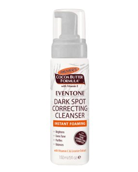 Palmer's Cocoa Butter Eventone Dark Spot Correcting Cleanser for Unisex, 5 Ounce