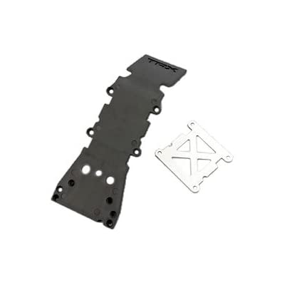 Traxxas 4937A Grey Front Skidplate: Toys & Games