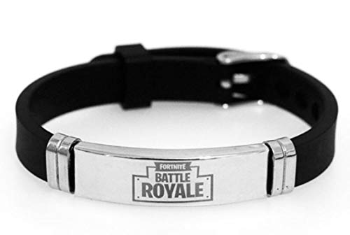 arget Great Gift for Fort nite Gamers Lovers and Fans Bracelet Wristband, Theme Gift for Fort nite Lovers Adjustable Sizes for All, (Style 9)