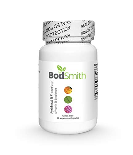 Pyridoxal 5 Phosphate (Active Vitamin B6) (P5P) P5P aids in The Absorption of B12, and Supports The Immune System and Brain Function.*