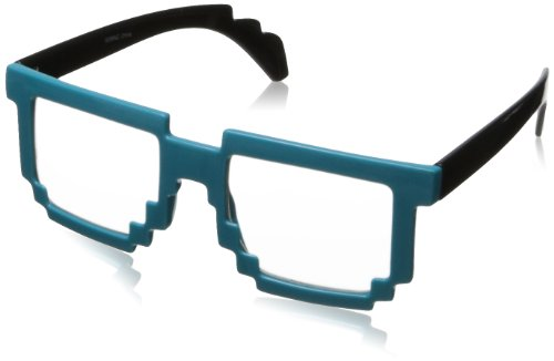 Mlc Eyewear 8 Bit Pixel Shield Sunglasses Blue 50 Mm