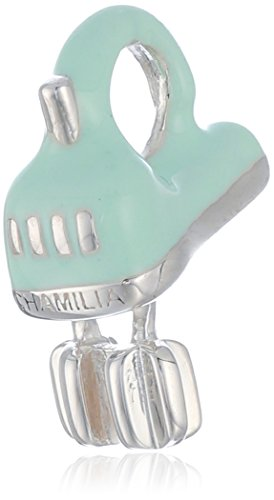 Chamilia Sterling Silver Beat It Electric Mixer Bead Charm
