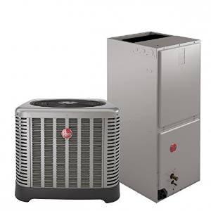 4 Ton 15 Seer Rheem / Ruud Heat Pump System RP1548AJ1NA - Heat Pump Central Heating