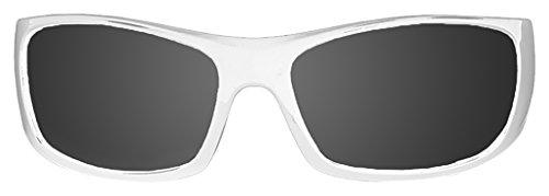 Paloalto Sunglasses P3400.2 Lunette de Soleil Mixte Adulte, Blanc