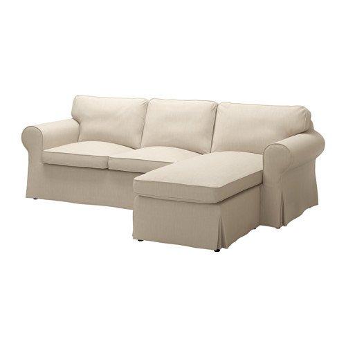 IKEA 3人掛け用カバー Nordvalla ダークベージュ 2028.52323.1422   B01L0IBGIK