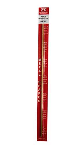 K & S Precision Metals 8128 5/32x12 RND BRS Tube