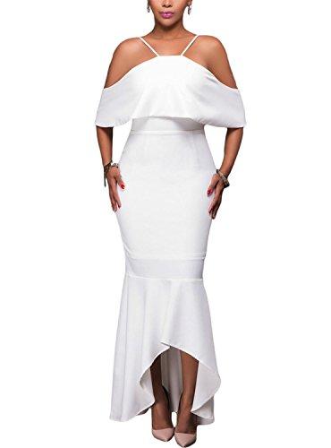 ebay all white club dresses - 3
