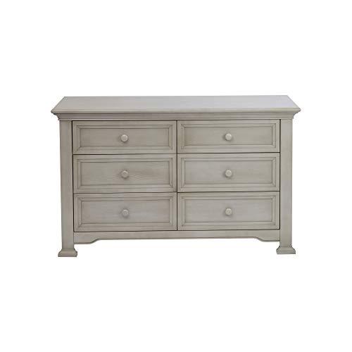 Centennial Medford 6 Drawer Dresser Vintage Grey