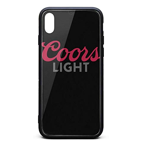 Hybrid Protective Durable Stylish Non-Slip Design Fashionable iPhone Cases Covers for X,Xs,XsMax Back Cover Anti-Scratch Scratch Resistant Thin Ultra Slim (Coors Light Case)