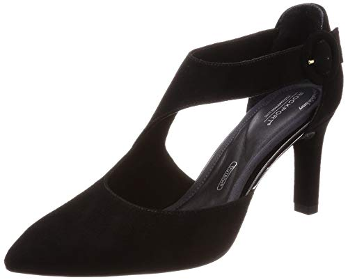 Motion Femmes Rockport 5 Luxe Total Noir Ang 35 Eu Valerie Chaussures 44rqw