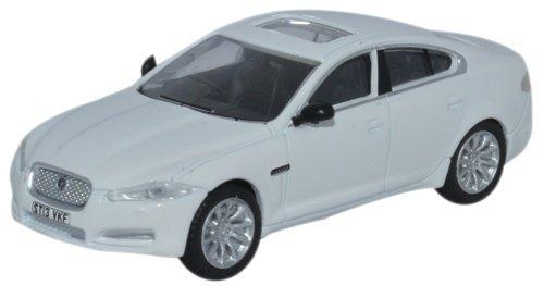 Oxford Diecast 1:76 Scale Jaguar Xf Saloon Polaris White