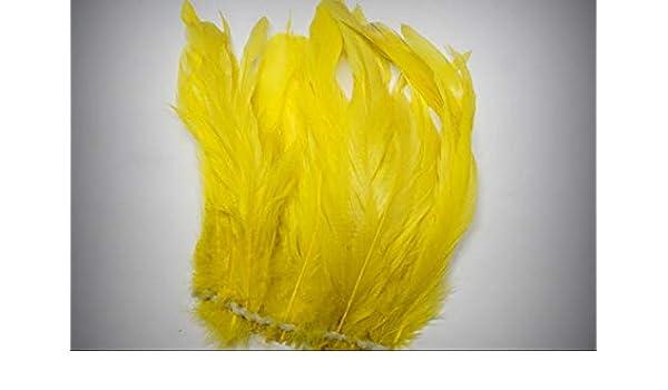 """COQUE FRINGE BLACK 4-6/"""" Feathers 60-80 pcs Trim//Costume//Bridal//Craft"""