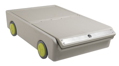 ECR4Kids Lock and Roll Portable UnderBed Personal Safe